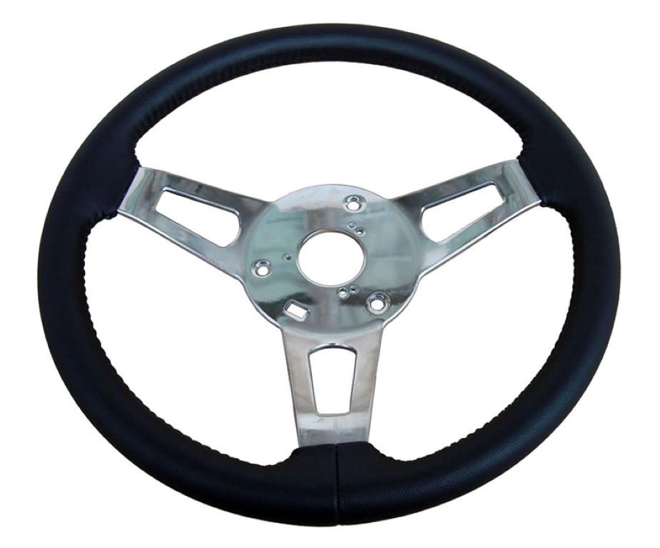 256-BS-C Mopar A,B,C,E-Body Leather Tuff Steering Wheel