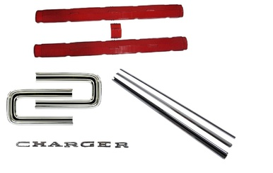 1966-67 Dodge Charger Taillight Kit