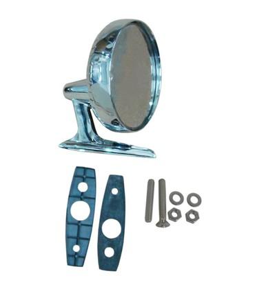 1968-69 AMC RH Chrome Rearview Mirror