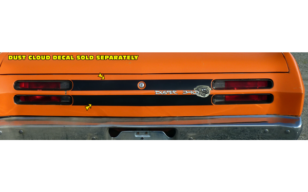 1970 Plymouth Duster Tail Panel Stripes