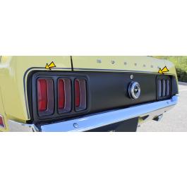 1970 Boss 302 Mustang Trunk Lid Stripe Kit