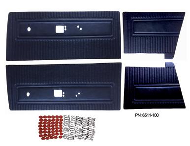 1971 Dart Swinger Scamp Door Panels Front & Rear Set