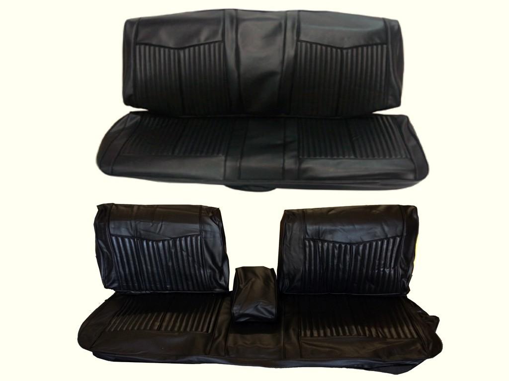 6611-BEN Mopar 1970 Dart Duster Front Split Bench Seat Cover