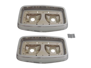 1964 Plymouth Belvedere and Fury Taillight Bezels