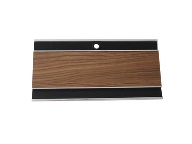 1969-70 B-body Diecast Woodgrain Console Glove Box Door