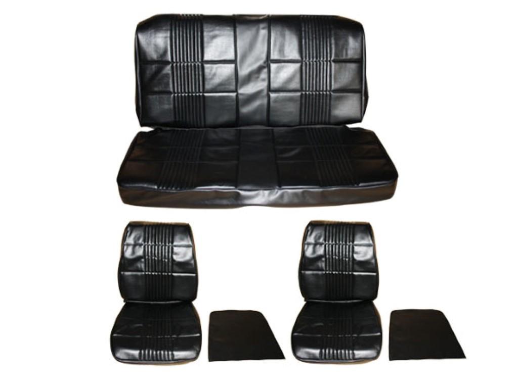 7701-BUK 1968 Coronet 500 R/T Front Bucket Seat Rear Bench