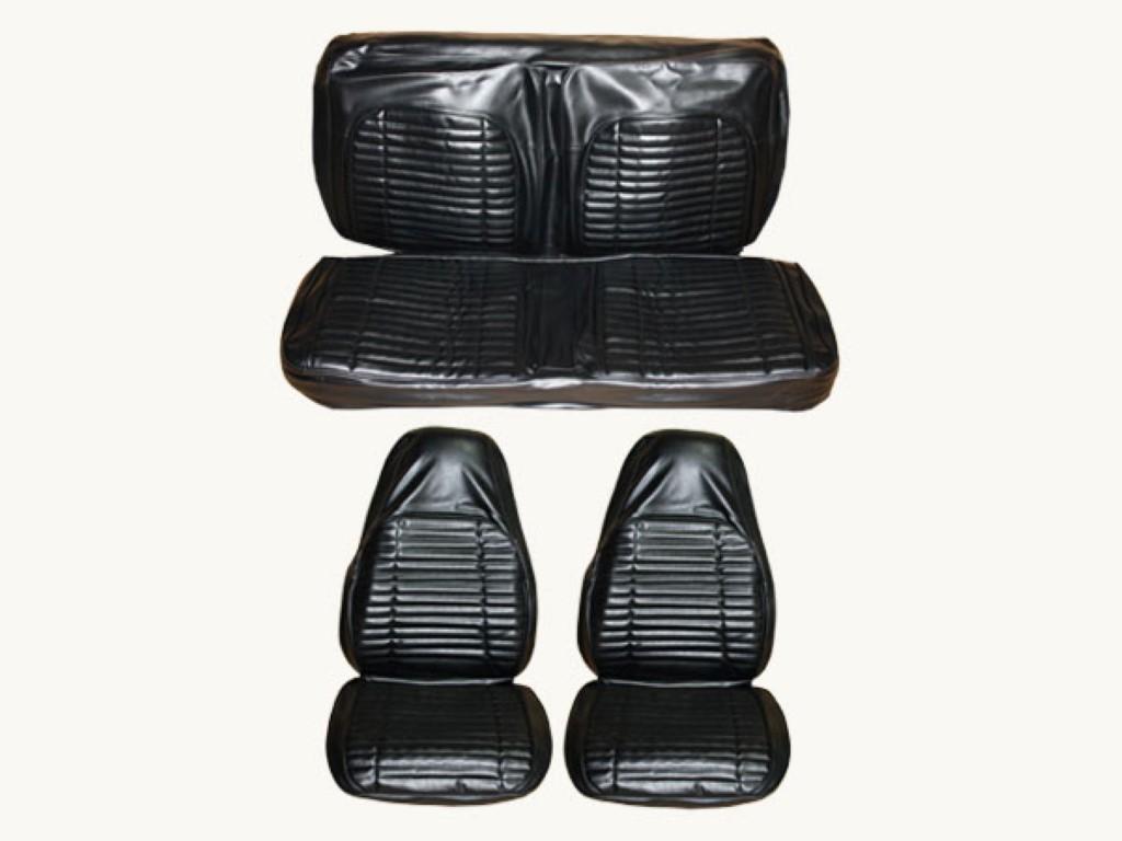 7705-BUK-100 1971 Charger, Roadrunner, Satellite Front Bucket Seat Rear Bench