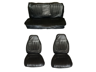 1971 Challenger Front Bucket Rear Bench Seat Cover