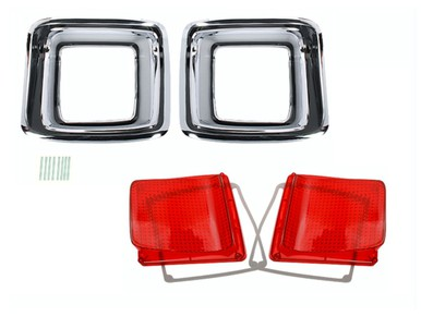 1969 Plymouth GTX Taillight Kit