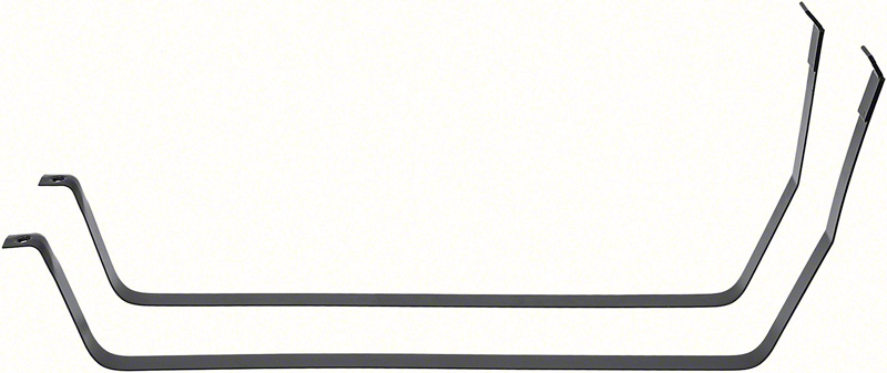 1970-74 Mopar E-Body - Fuel Tank Mounting Straps - Edp Coated Steel (Pair)
