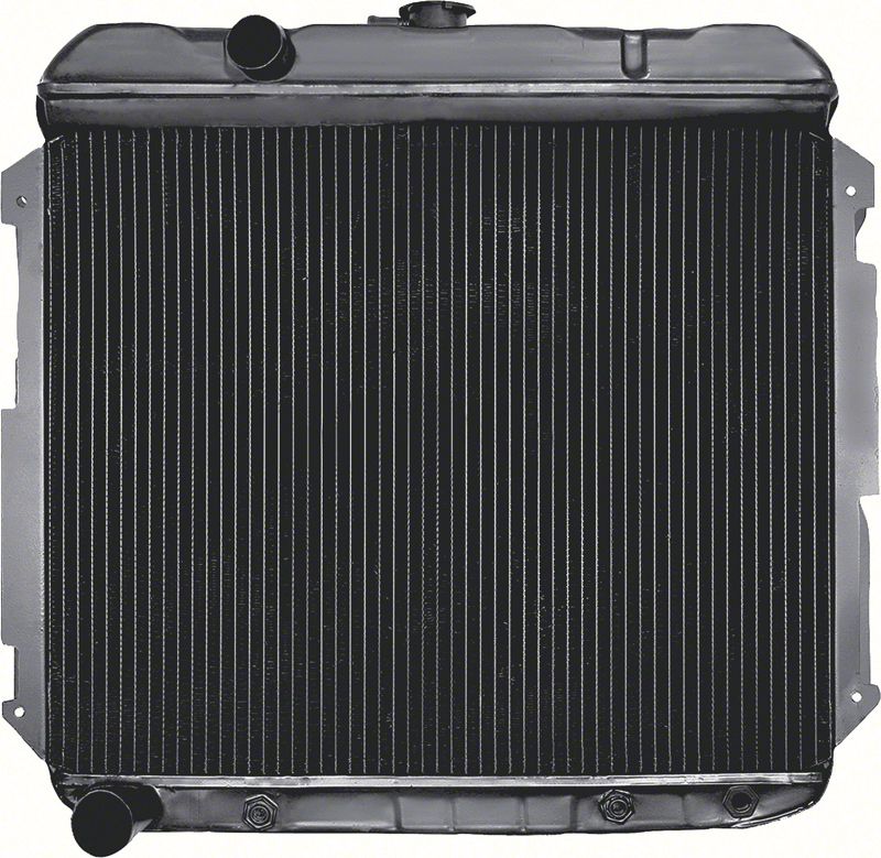 "1966-69 Mopar B-Body Big Block V8 Exc Hemi With Automatic Trans 3 Row 22"" Wide Replacement Radiator"