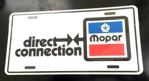 Mopar Direction Connection License Plate