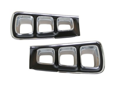 1968 Dodge Coronet R/T Taillight Bezels