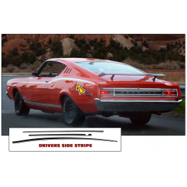 1968 Mercury Cyclone GT Upper Body Stripe Kit