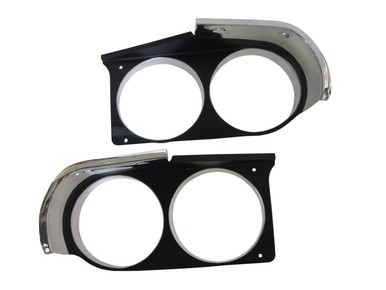 1970 Dodge Challenger R/T Headlight Bezels