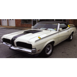 1970 Mercury Cougar Eliminator Side Stripe Kit