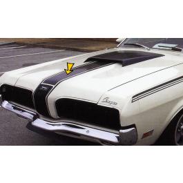 1970 Mercury Cougar Eliminator Hood Stripe