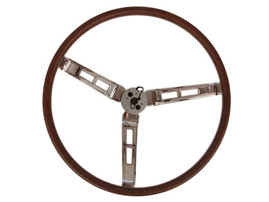1970 A,B,C-Body Rallye Woodgrain Steering Wheel