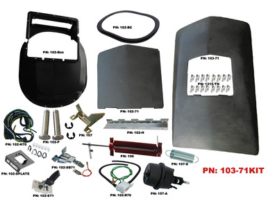 1971-72 Roadrunner GTX Air Grabber Kit