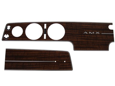 1970 AMC AMX Dash Bezel Kit (no AC)