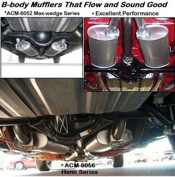 B Body Dodge Charger Super Bee Exhaust Tips And Exhaust