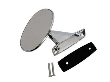 1970 E-body LH Non-Remote Manual Mirror