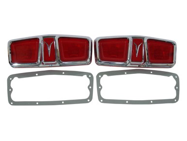 1964 Plymouth Fury Taillight Lenses