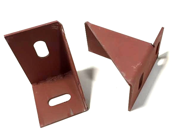 1969 1/2  Mopar B-Body A12 Lift Off Hood Pin Brackets