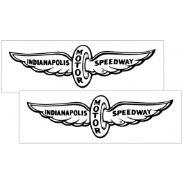 1979 Mustang Indy Pace Car Wing Decal Set