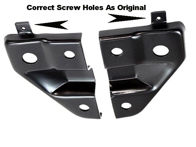 Cuda Hood Pin Support Brackets Mopar
