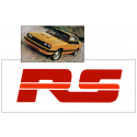 1979-84 Mercury Capri RS Decal