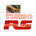 1979-84 Mercury Capri Turbo RS Decal