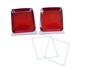 1969 Plymouth Roadrunner Taillight Lenses