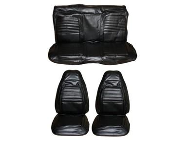 1970 Cuda Barracuda Front Bucket Seat Cover Set