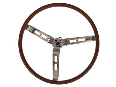 1966-69 A,B,C-Body Rallye Woodgrain Steering Wheel
