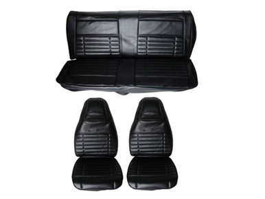 1972 Duster Demon Front Bucket Rear Bench Seat Cover