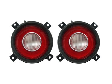 1972-74 Plymouth Cuda Taillight Lenses (with Back-up Lens)