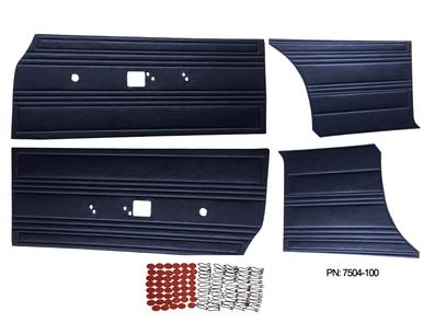 1969 Satellite Roadrunner Door Panel Front & Rear Set