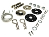 "1968 1969 1970 B-Body Charger Road Runner GTX Hood Pin Kit with 25"" Cables"