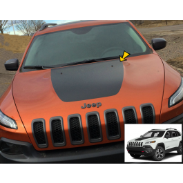 2014-15 Jeep CHEROKEE KL Trailhawk Hood Blackout Decal
