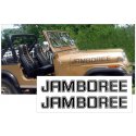 1982 Jeep Hood Decal Lettering Kit - JAMBOREE Name