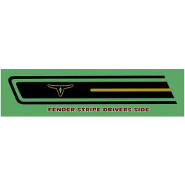 *1970 Ford Maverick Grabber West Coast Special Side Stripe Kit