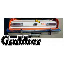1974-75 Ford Maverick Grabber Tail Panel Name Paint Stencil