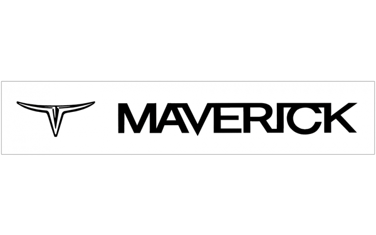 Ford Maverick Windshield Decal with Logos