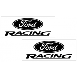 "Ford Racing Decal Set - 1.8"" x 4.75"""