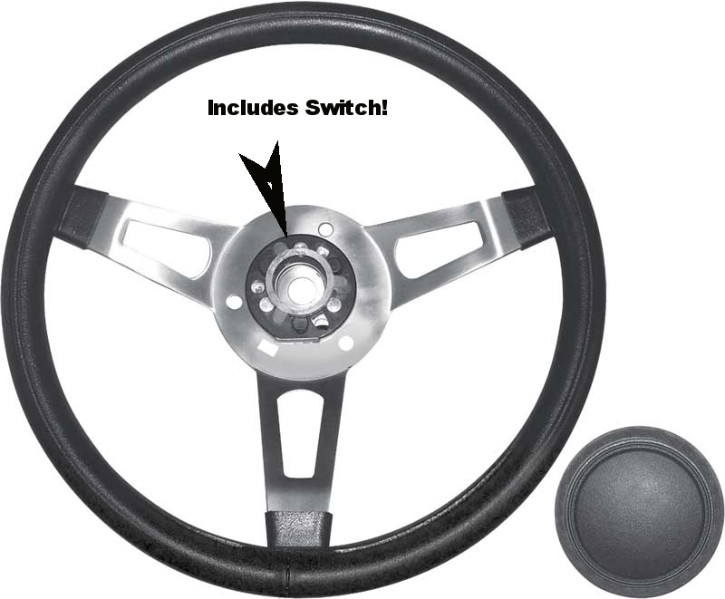 Reproduction Mopar Tuff Wheel Steering Wheel