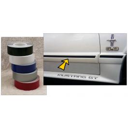 "*1987-93 Mustang GT 1"" Body Molding Stripe"
