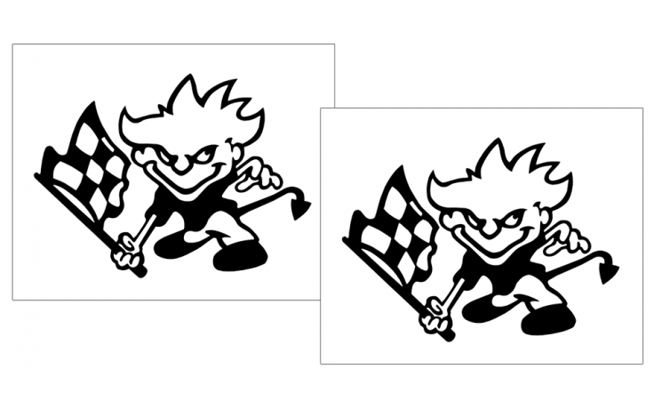starter devil decal set