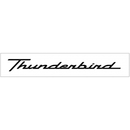 "Ford Thunderbird Windshield Decal - 2.9"" x 28"""
