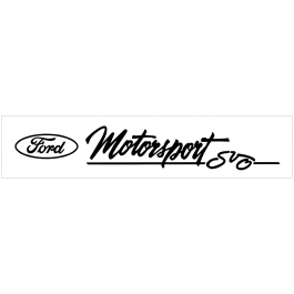 "Ford Oval Motorsport SVO Windshield Decal - 3.4"" X 20"""